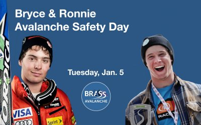 Bryce & Ronnie Avalanche Safety Day Jan. 5